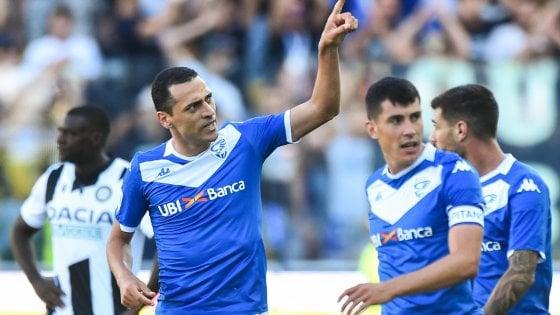 Udinese-Brescia 0-1: decide Romulo, terza sconfitta di fila per i friulani