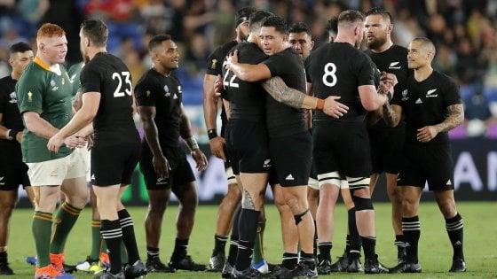 Rugby, Mondiali: gli All Blacks battono il Sudafrica, ok Francia e Australia