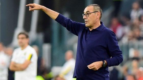 """Juventus, Sarri: """"Siamo stanchi mentalmente, ma vittoria importante"""""""