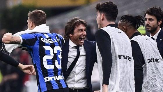 """Inter, Conte: """"Vittoria meritata in una gara speciale"""". Lukaku: """"Scudetto? Testa alla Lazio..."""""""