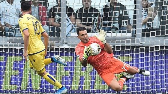 Juventus, aspettando il bel gioco Sarri si consola con la vecchia guardia