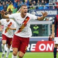 Bologna-Roma 1-2, Dzeko al 94' lancia i giallorossi