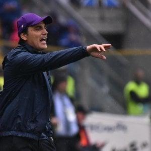 """Fiorentina, Montella: """"Punti buttati. ma stiamo crescendo"""""""