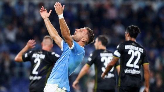 Lazio-Parma 2-0: Immobile segna, ma poi litiga con Inzaghi