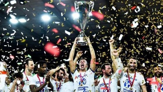Basket: Supercoppa italiana a Sassari: rivincita Pozzecco, Venezia ko
