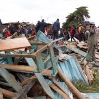 Kenya, crolla scuola a Nairobi. Morti almeno 7 bambini