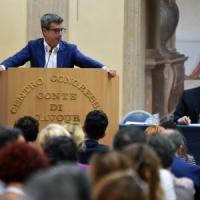 """Direzione Pd, Zingaretti: """"Scissione come liberazione? Per me è il contrario"""". Guerini:..."""