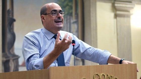 """Direzione Pd, Zingaretti apre alle minoranze: """"Il Congresso è finito"""". Guerini: """"Scissione errore imperdonabile"""""""