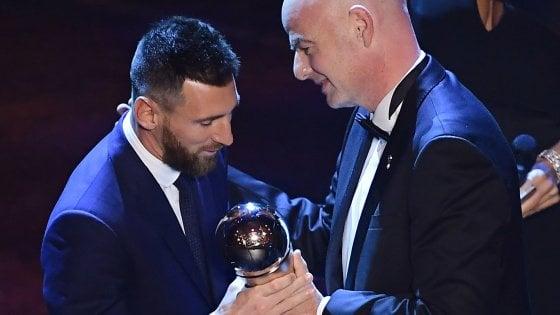 Premi Fifa: Messi il miglior giocatore, Klopp l'allenatore più bravo
