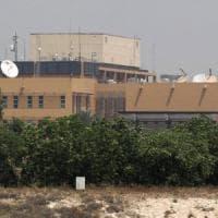Iraq, due razzi da mortaio esplodono vicino all'ambasciata americana di Bagdad