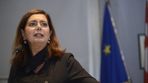 """Laura Boldrini nel Pd, Zingaretti: """"Benvenuta, il partito è più aperto e più forte"""""""