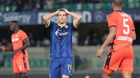 Verona-Udinese 0-0, Musso salva i friulani