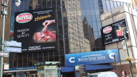 I salumi Beretta arrivano al Madison Square Garden