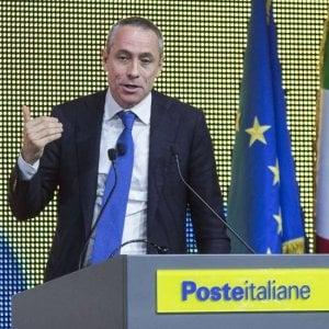L'ad di Poste Italiane, Matteo Del Fante