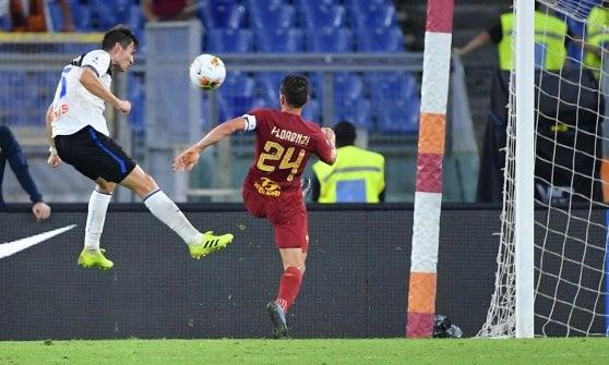 Roma-Atalanta 0-2, Zapata e De Roon piegano i giallorossi