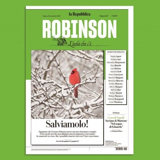 Su Robinson, il racconto della natura