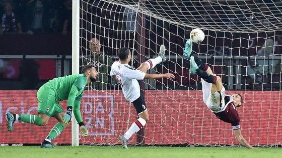 Torino-Milan 2-1: Piatek non basta, Belotti ribalta il Diavolo
