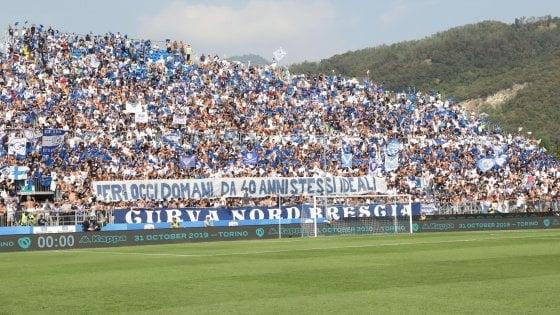 Brescia, insulti razzisti a Pjanic: un turno con sospensiva alla Curva Nord