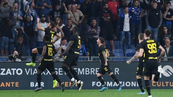 Sampdoria-Inter 1-3, Sensi mantiene i nerazzurri in vetta. Ora la sfida con la Juve