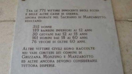 """Mattarella ricorda l'eccidio di Marzabotto: """"Il male non è sconfitto per sempre"""""""