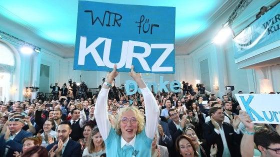 Austria, elezioni legislative: trionfa Kurz, crolla l'ultradestra. Si apre ora il rebus alleanze