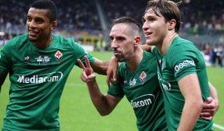Milan-Fiorentina 1-3: sprofondo rossonero, i viola trascinati da Ribery