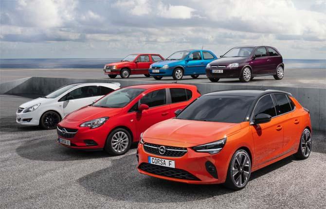Un milione e mezzo di volte Opel Corsa