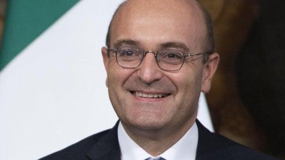 Antonio Misiani,  nel corso della cerimonia di giuramento dei sottosegretario del secondo governo Conte