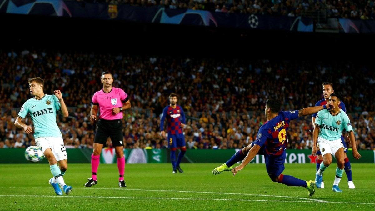 Barcellona-Inter 2-1: nerazzurri super per un tempo, poi doppio ...