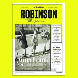 Su Robinson, Anna Frank come non l'avete mai letta