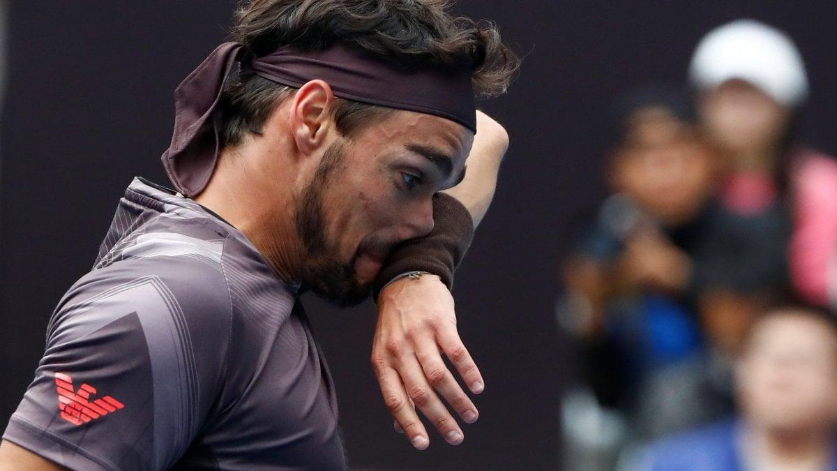 Tennis, Fognini si ferma ai quarti a Pechino