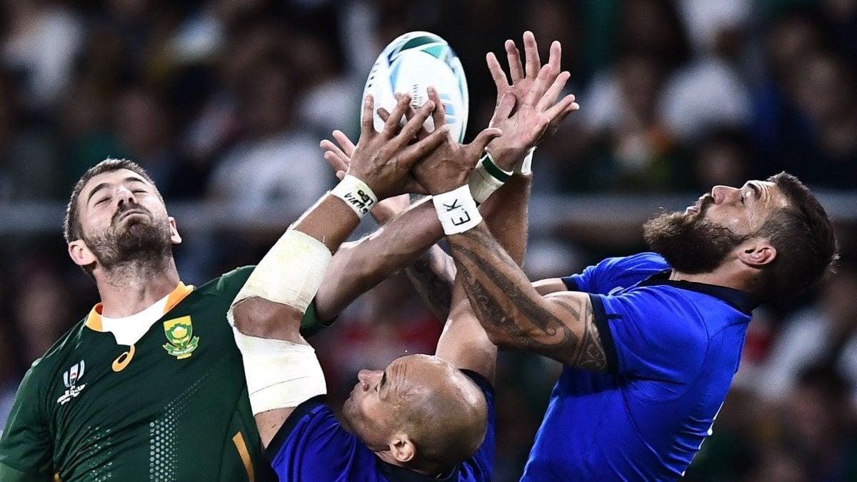 Rugby, Mondiali: niente impresa, Italia battuta dal Sudafrica 49-3