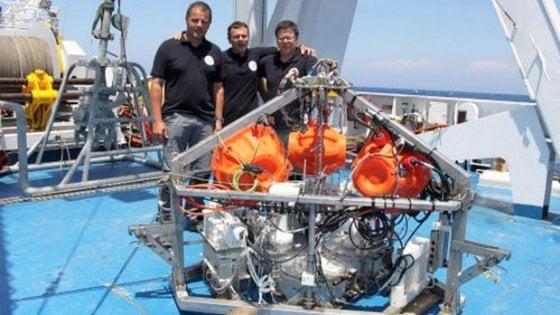 I primi lander italiani per analizzare le sostanze nel fondale marino