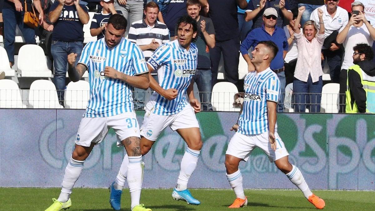 Spal-Parma 1-0, Petagna fa respirare i biancazzurri