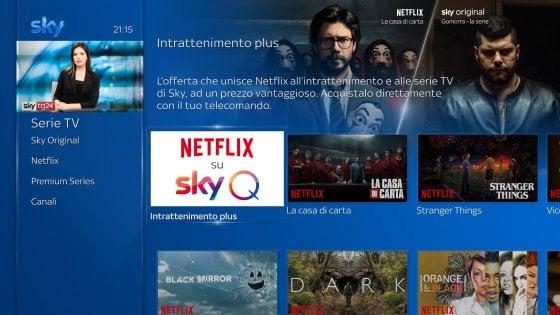 Abbonamento Sky-Netflix, tutti i dettagli dell'accordo. Al via dal 9 ottobre