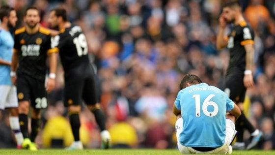 Inghilterra, il City cade in casa con Wolverhampton, Liverpool in fuga. Ko anche lo United, bene Arsenal e Chelsea