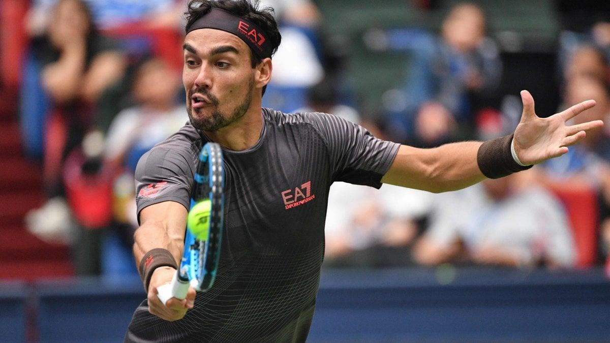 Tennis, Shanghai: Fognini ok contro Querrey, Cecchinato è già fuori