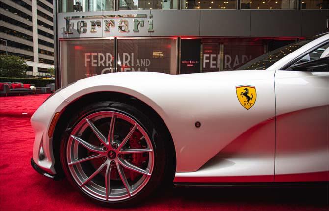 Ferrari a New York, i pezzi unici nascono anche qui