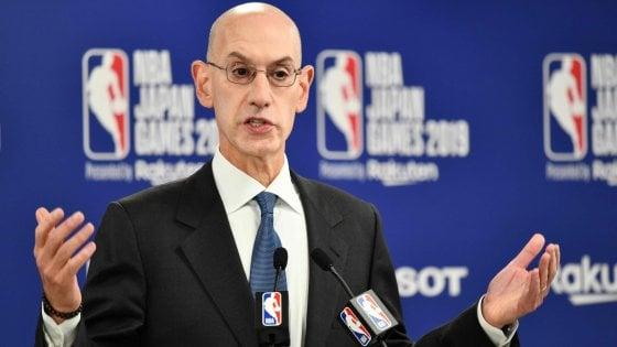 """Basket, gelo Cina-Nba; Silver: ''Libertà espressione nostro valore fondante"""""""