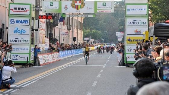 Ciclismo, Tre Valli Varesine: numero di Roglic. Nibali sbaglia strada