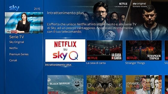 Netflix e Sky. Ecco a chi conviene la nuova offerta