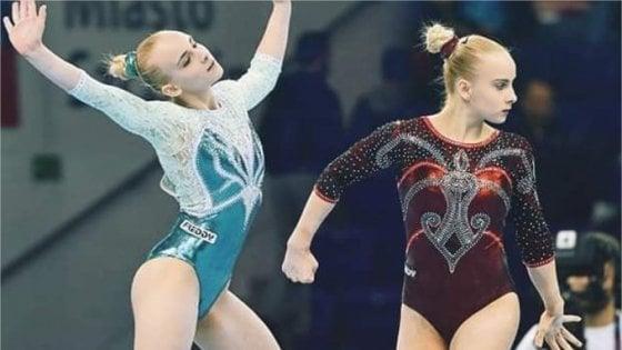 Ginnastica artistica: Asia e Alice, le gemelle d'italia