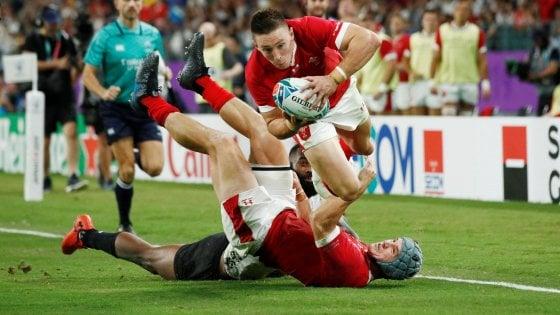 Rugby, Mondiali: stili a confronto, il Galles supera le Fiji