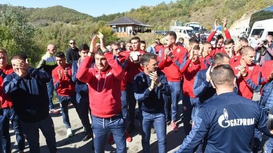 Kosovo, negato ingresso alla Stella Rossa. Serbia infuriata: ''Escludetelo da Fifa e Uefa''