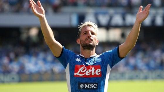 Napoli, la promessa di Mertens: ''In Italia con nessun'altra maglia''