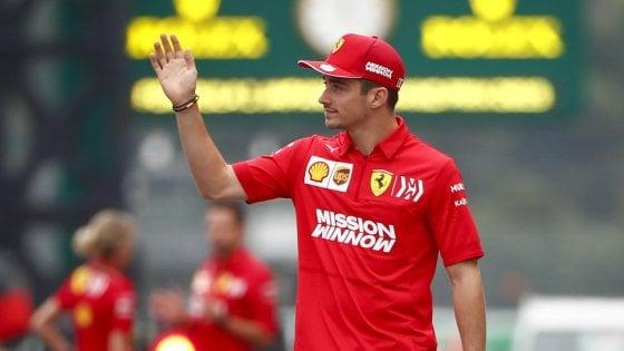 """F1, Gp Giappone; Leclerc: """"Chiarito con Vettel, prove venerdì importanti"""""""