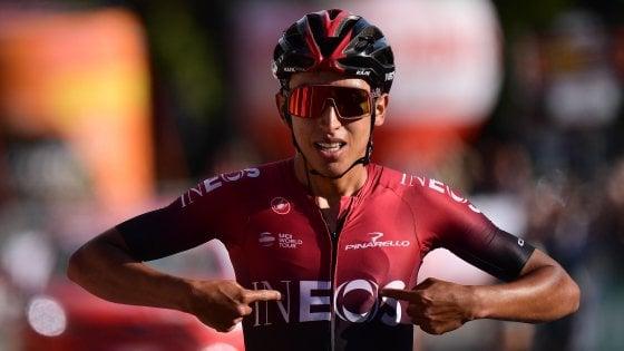 Ciclismo, Gran Piemonte: show di Bernal sulle strade di Pantani