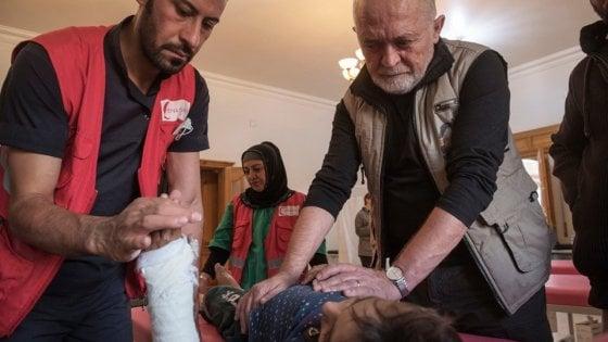 """Il medico dell'ong italiana nel Kurdistan siriano: """"Fermate questa barbarie, ha conseguenze devastanti"""""""