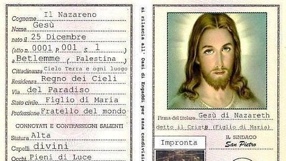 Radio Maria pubblica la carta di identità di Gesù: fedeli in rivolta sui social