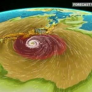 Giappone, a Tokyo arriva il tifone Hagibis: annullate le prove di Formula 1 di domani